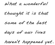 Wonderful Thoughts