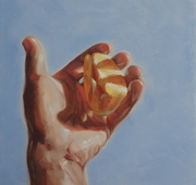 """Kindness,"" Oil on Canvas, 12x12"" 2014"