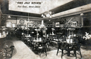 Three Jolly Butchers interior, c1905