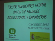 3º encuentro de unión de mujeres agricultoras y ganaderas