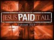 Jesus Christ is LORD!