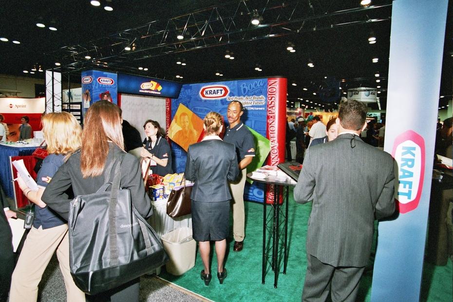 Job Fair - Hispanic MBA Conf - Kraft Display
