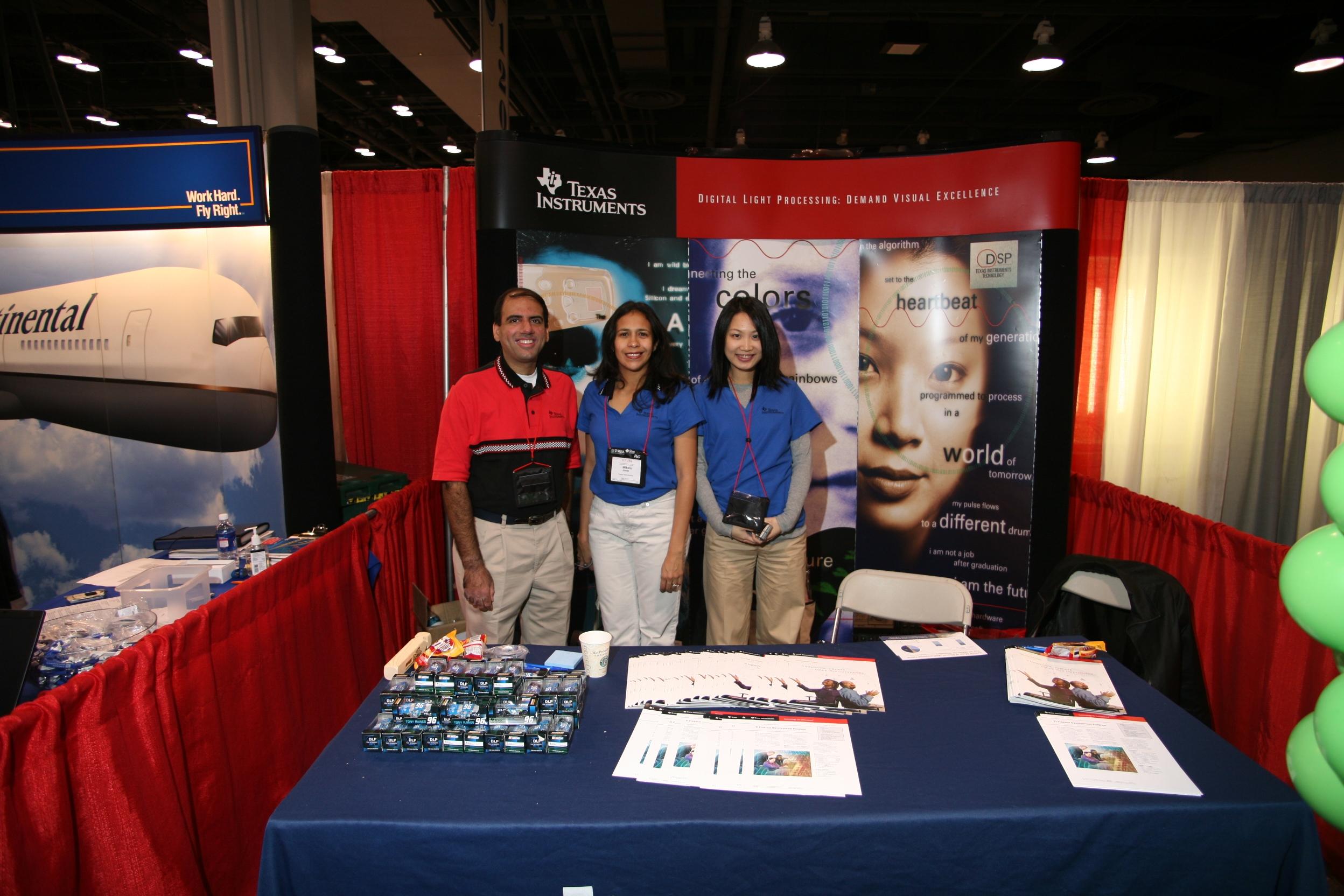 Job Fair - Texas Instruments Recruitment Team