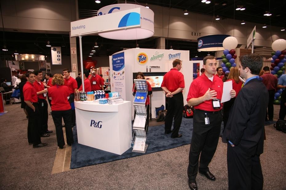Job Fair - P&G Recruitment Booth & Team3