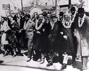 Selma to Montgomery, Alabama Civil Rights March - March 1963 - Marks Anniversary 50 Years Ago Today