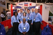 Sears National Recruitment Team & Booth - Sears is Serious About Bringing the Best to Hire the Best...