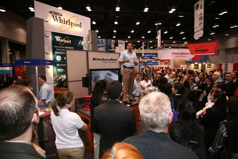 Whirlpool National Recruitment Team & Booth -- Standout To Be Noticed & Recognized