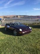 The Amethyst Dazzler 1994 Cabriolet at Sonoma Raceway CA
