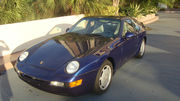 1994 Porsche 968 Iris Blue Metallic Coupe