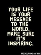 Life as Message