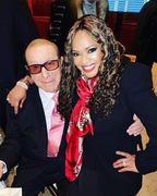 Clive Davis and Sherry Gordy