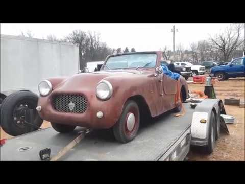 Walk About A 1950 Crosmobile At the 2019 Howard County Swap Meet Chesapeake Region AACA