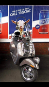 NEWSFLASH! Goat rides al the way from Gippsland to attend Melbourne Breakfast!