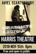 Rescheduled -- Aviel Scanterbury Graduate Recital