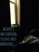 early morning.