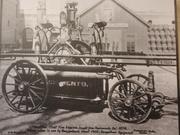 1834 Hunneman End Stroke Hand Pumper