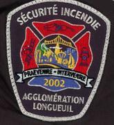 Longueuil FD badge