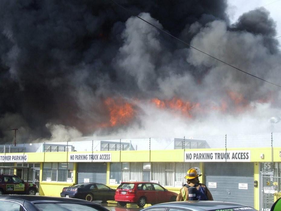 honda factory fire