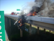 Lewisville TX Tollway 121 bypass wreck 040810 003