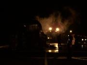 Interstate Tour Bus Fire