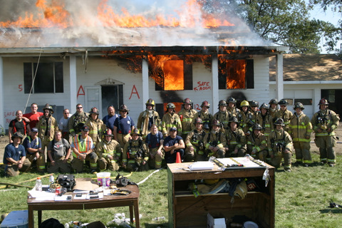 Huron Fire Acquired Structure Burn - 10/8/11