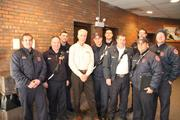 Bensenville Firefighters at class