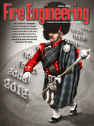 April 2012 Fire Engineering cover