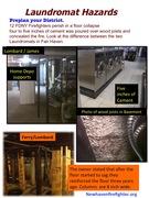 Safety Posting Laundromat Hazards