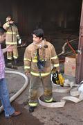 Incendio en deposito