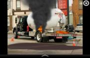 tire bobtail flame leak