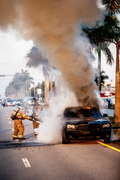 Car Fire Miami-Dade Fire Rescue