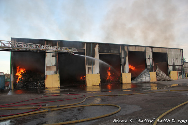 Transfer Station Fire