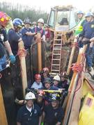Trench Rescue Class with Colonie Fire Company