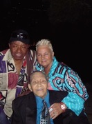 Little Anyhony Gourdine, Jimmy Scott and Geanie Scott