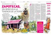 Zapotecas, sin derecho a la tenencia de la tierra