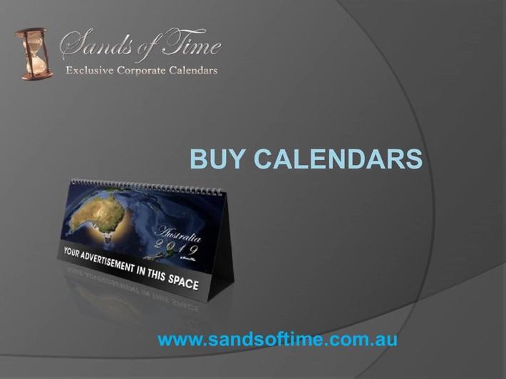 Sands of Time- Buy Calendars Online in Australia