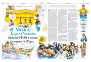 Música, alma y corazón: tocarán  94 niños mixes en misa del Papa