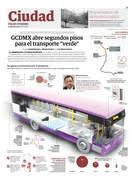 GCDMX abre segundos pisos para el transporte