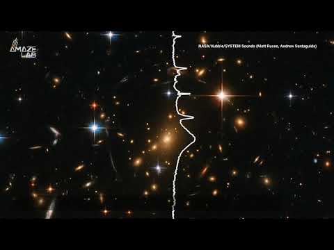 Listen to the Song a Galaxy Cluster Croons into Space