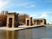 Templo de Debod, Madrid (18-11-2012)