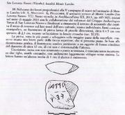 Inscripción en letras Etruscas del Monte Landro