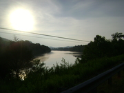 Sunsetting on the River