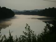 Fog Rolling on River