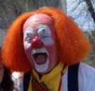 Hippie Circus clown NormaL T. Joey