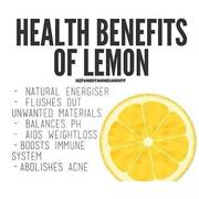 Health Benifits of LEMON
