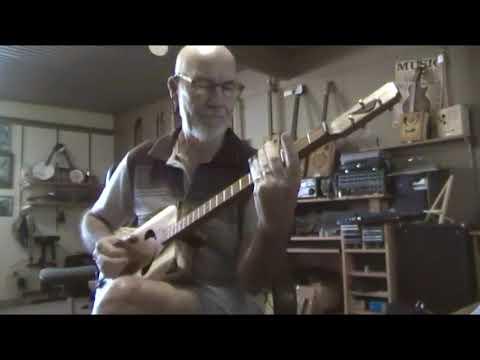 Cigar Box Style Guitar by Taffy Evans