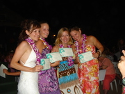 The girls get their Phd in Hula