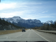 The road to Canmore