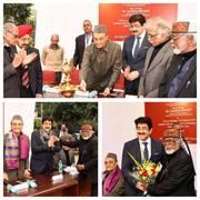 Sandeep Marwah Inaugurated Exhibition of Paintings by Biman Das