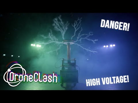 How to take down a rogue drone | Tesla Coil vs. Drone | DroneClash 2019